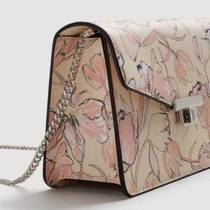 MANGO floral crossbody bag